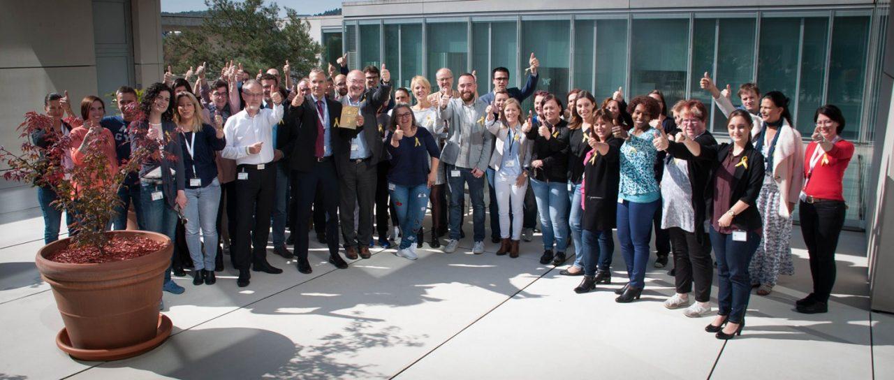 Le LNS participe à la campagne de sensibilisation LëtzGoGold de la Fondatioun Kriibskrank Kanner