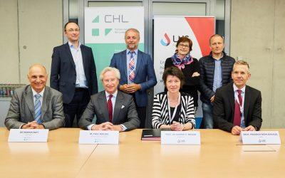 Signature de la convention de télépathologie entre le LNS et le CHL