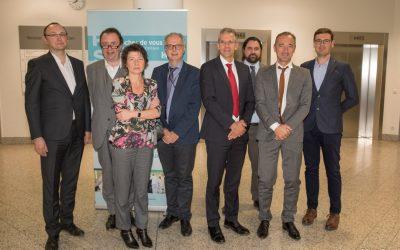 Signature de la convention de télépathologie entre le Laboratoire national de santé et les Hôpitaux Robert Schuman