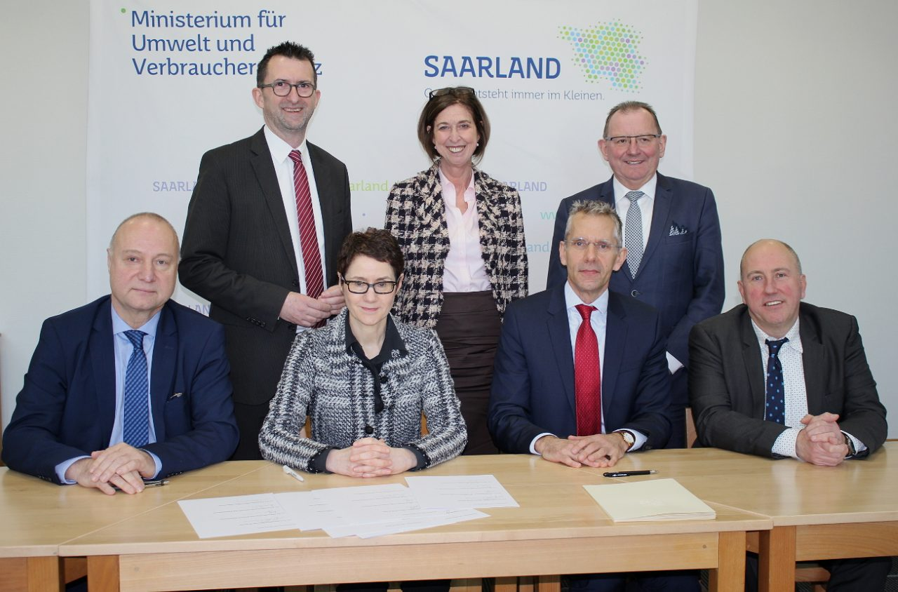 Luxemburg und das Saarland unterschreiben Memorandum of Understanding im Bereich der analytischen Lebensmittelkontrolle