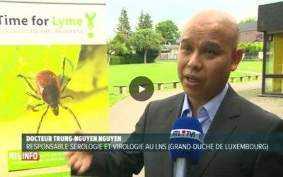 Reportage RTL Info sur la maladie de Lyme