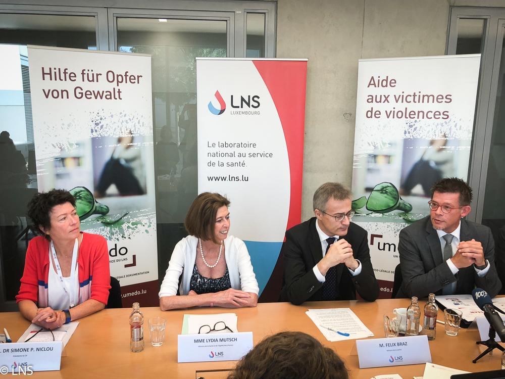 Les ministres Félix Braz et Lydia Mutsch lancent officiellement l'Unité médico-légale de documentation des violences (UMEDO)