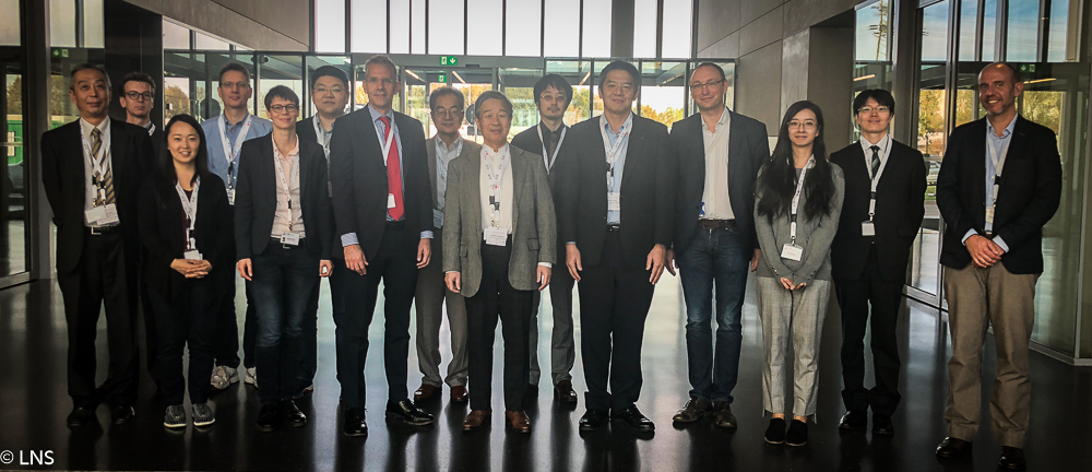 Visit of a delegation of Japanese scientists