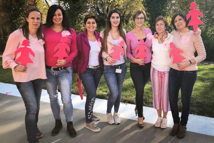 Pink Mob du CHEM pour soutenir les patients atteints du cancer du sein