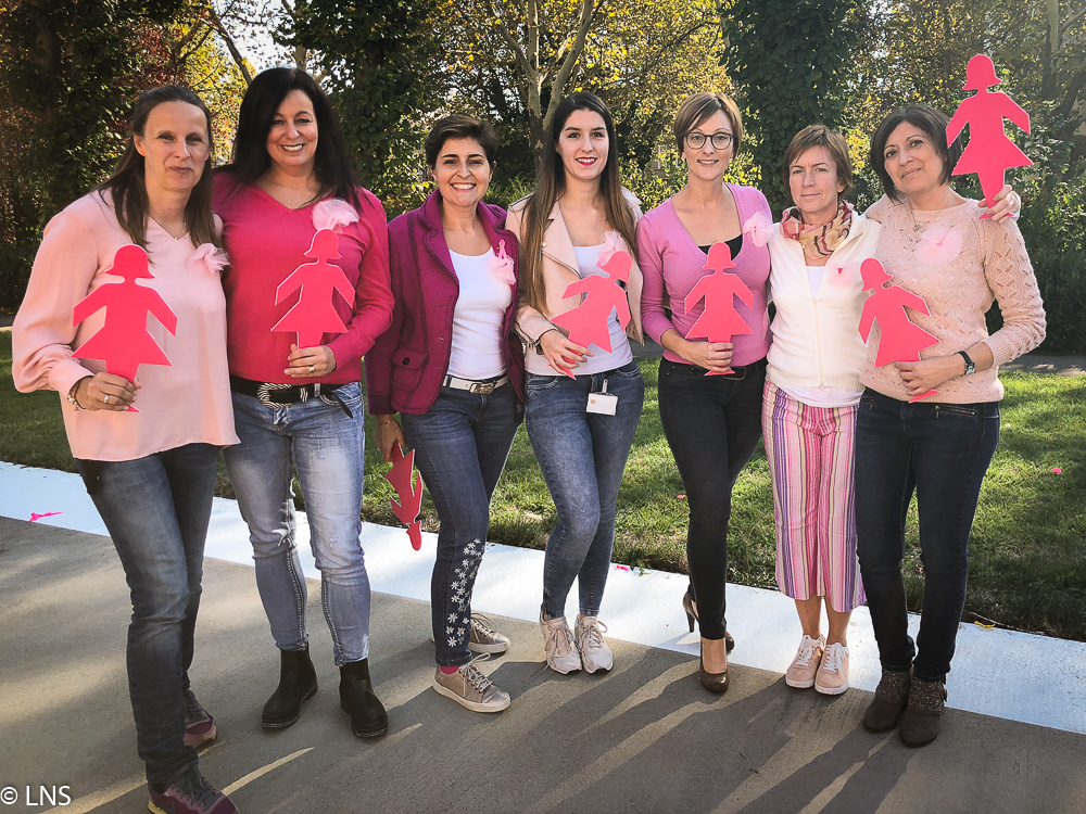Pink Mob du CHEM pour soutenir les patients atteints du cancer du sein