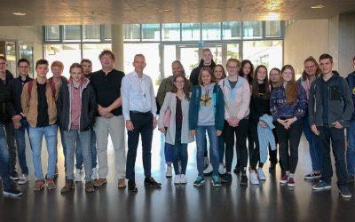 Visite d'élèves du LC Diekirch