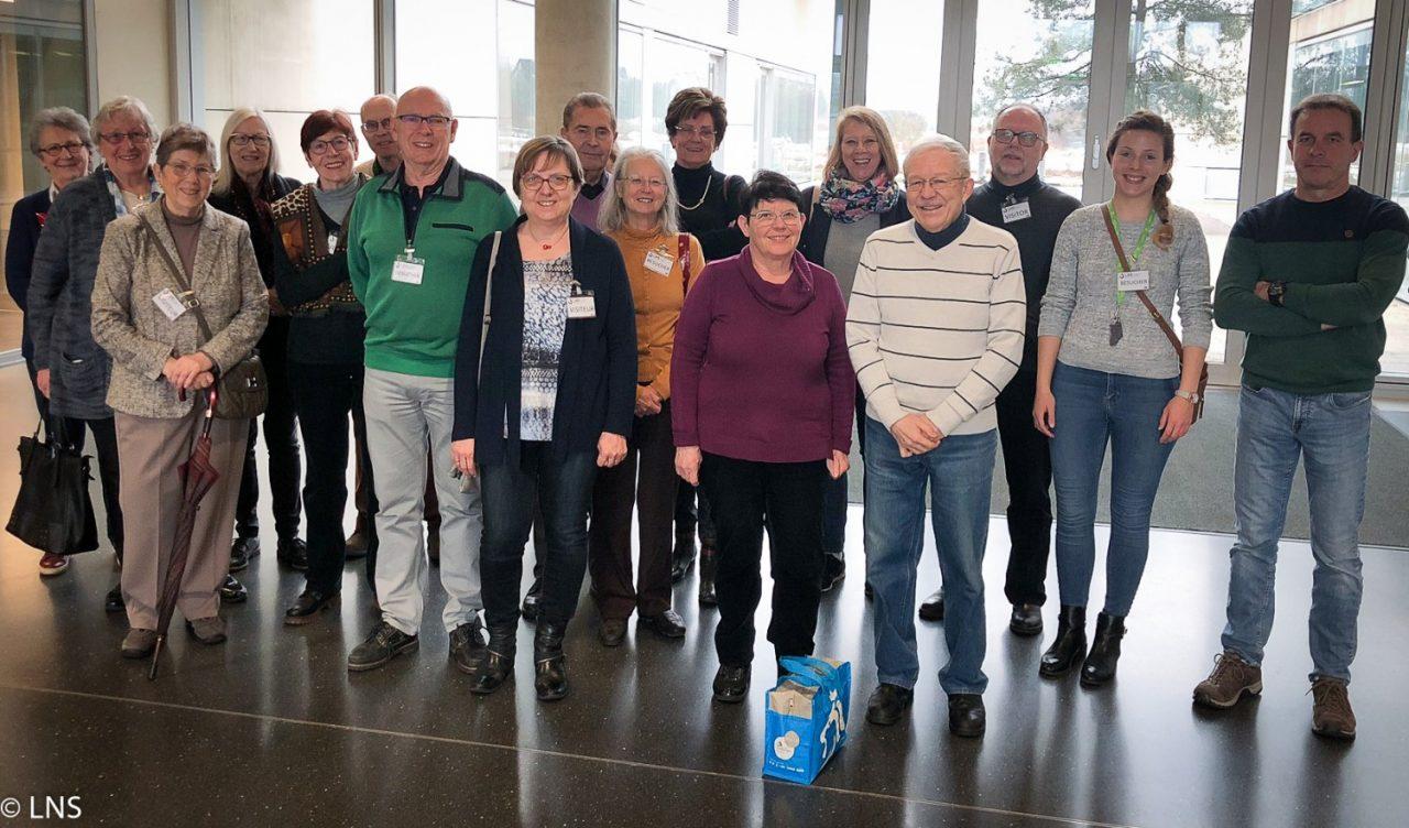 Visite des séniors de la Ville de Luxembourg