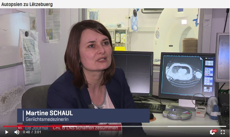 Reportage RTL: De nouvelles technologies facilitant le travail des médecins spécialisés en médecine légale