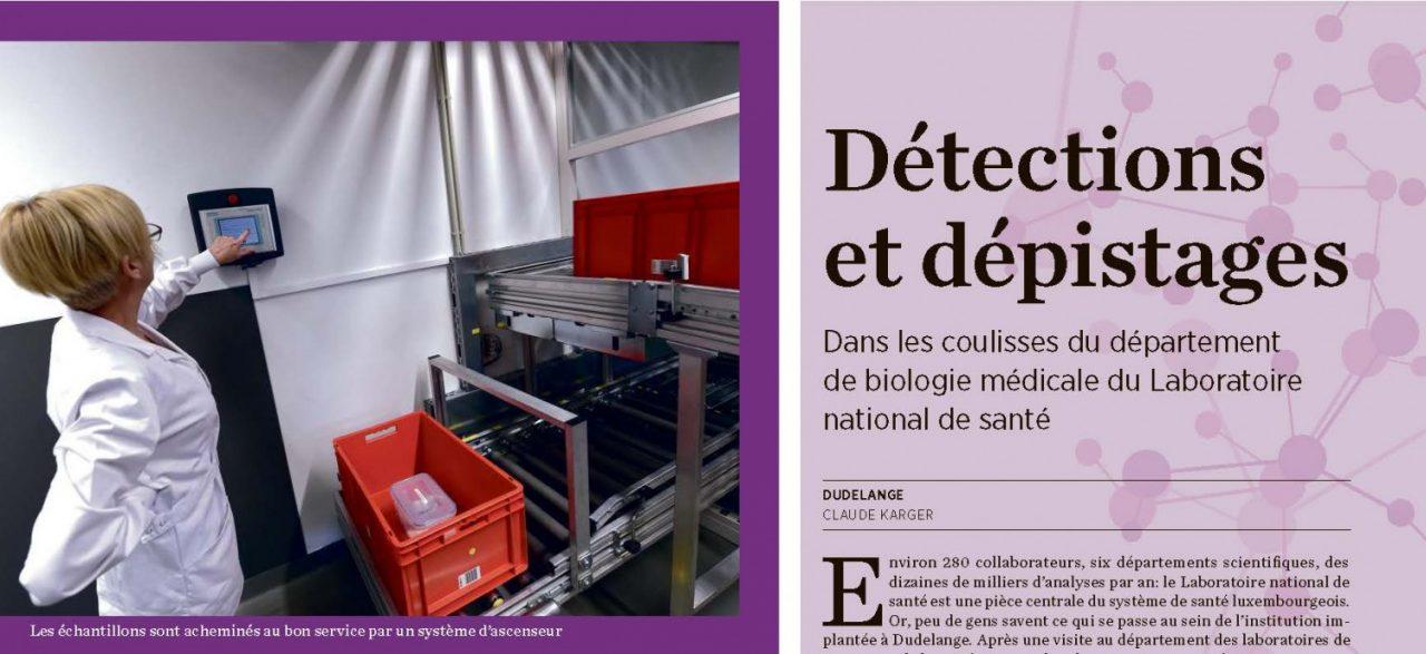 Le LNS dans la presse