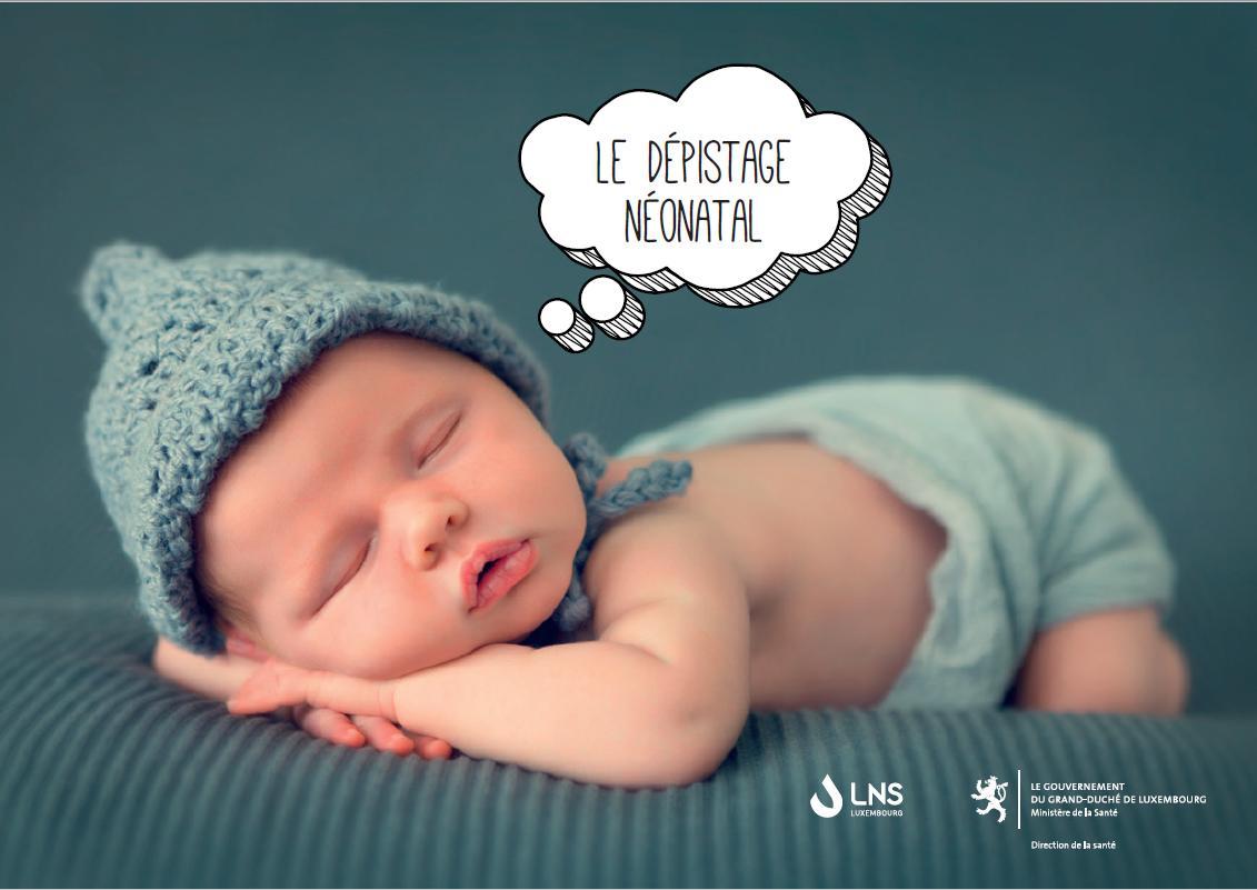 Brochure sur le dépistage néonatal