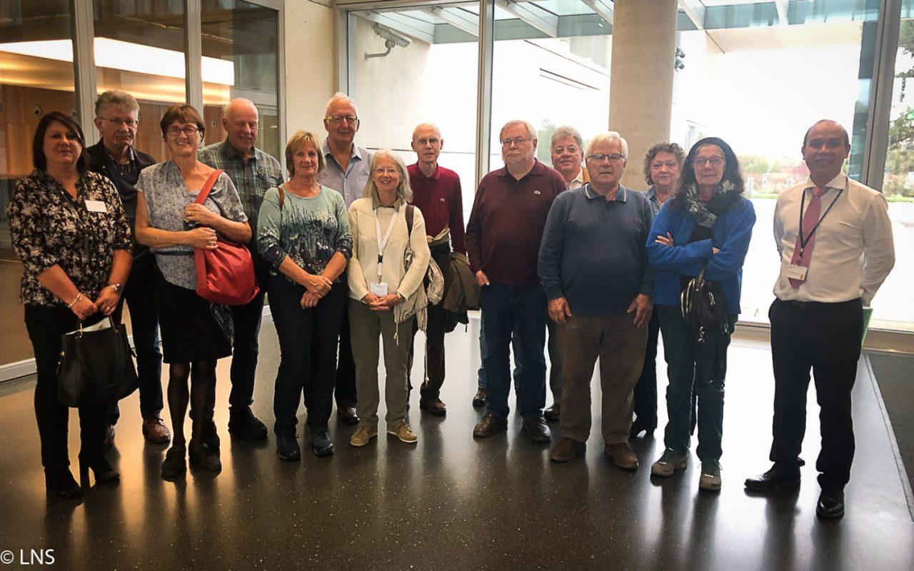 Visit of RBS seniors