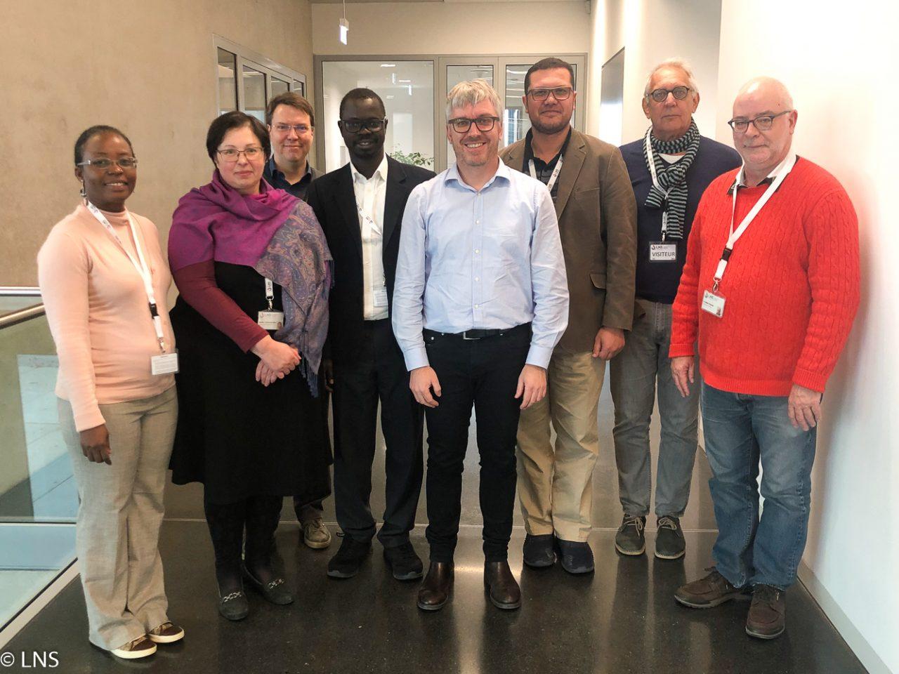 Visite du LNS par Enda-SANTE dans le cadre du projet CARES