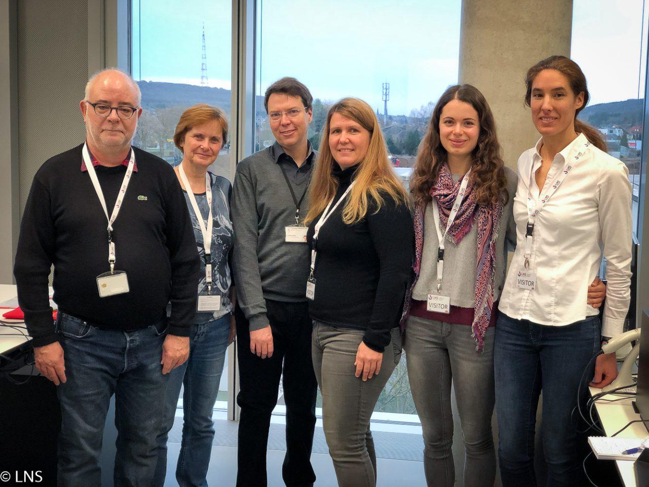 Visite d'une délégation slovène
