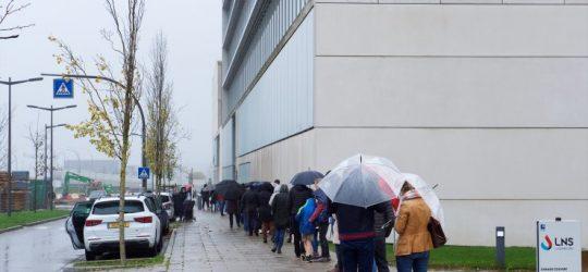 Tageblatt – Das Testzentrum in Düdelingen erlebt an Allerheiligen einen großen Andrang