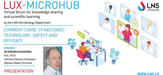 Présentation LuxMicroHub au sujet des vaccins COVID-19