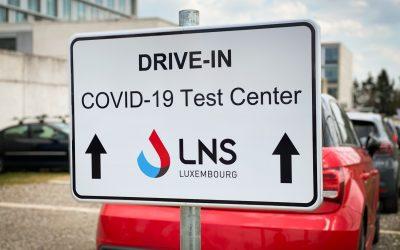 Fermeture du centre de prélèvement drive-in du LNS les jours fériés