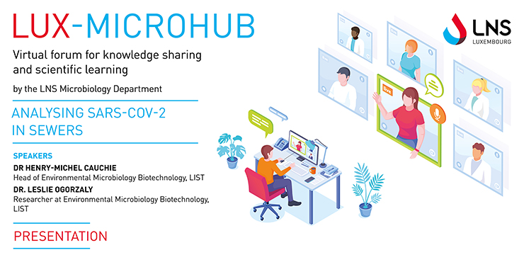 LuxMicroHub #4: Analysing SARS-CoV-2 in sewers