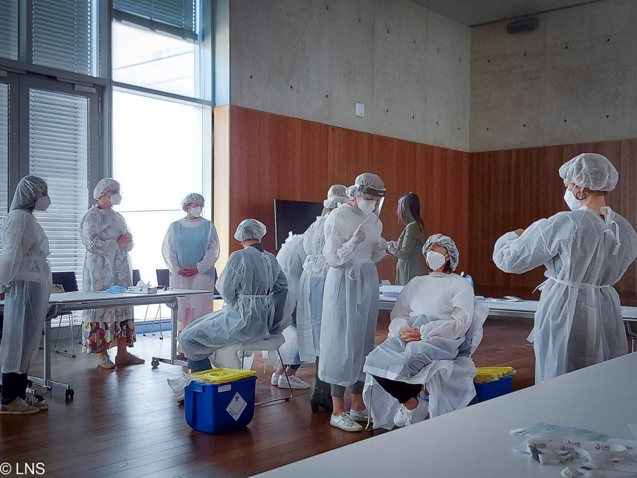 Formation au prélèvement nasopharyngé pour les professionnels de la santé : le LNS obtient la certification des autorités sanitaires