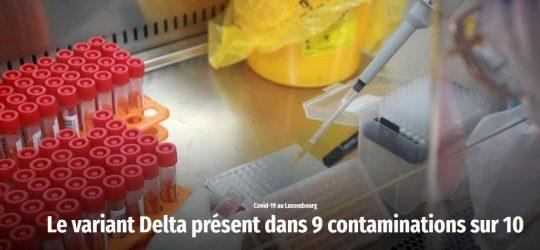 Wort – Le variant Delta présent dans 9 contaminations sur 10