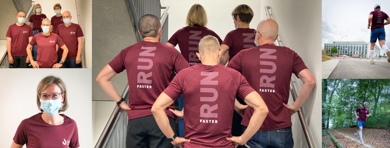 L'équipe du LNS au Léopard UTML Ultratrail du Müllerthal